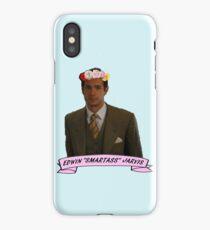 """Edwin """"Smartass"""" Jarivs iPhone Case"""