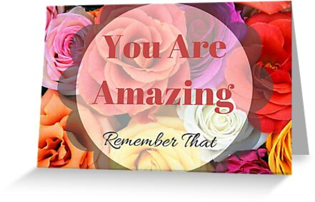 You Are Amazing by Holley Jacobs
