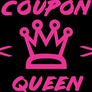 COUPON QUEEN SHIRT  by y2kid