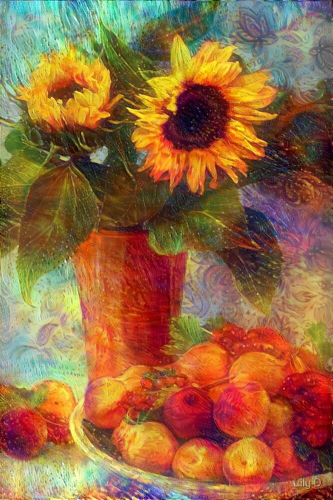 Still life with Sunflowers by Art Dream Studio