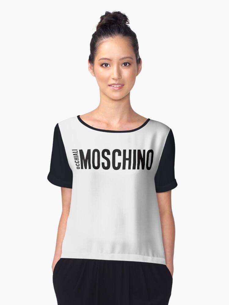 Almoschino tshirt Women's Chiffon Top Front