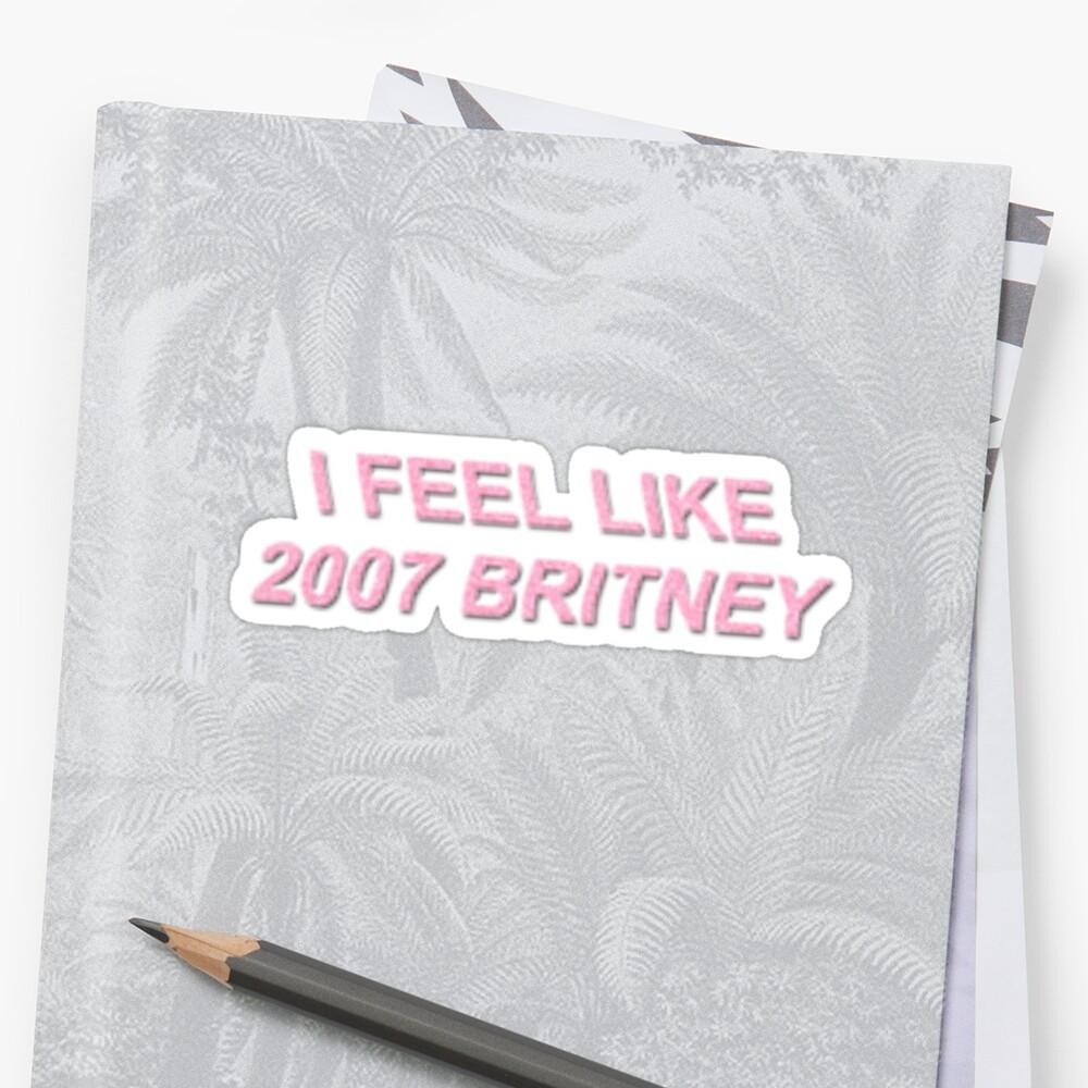 2007 britney by rosequartz11