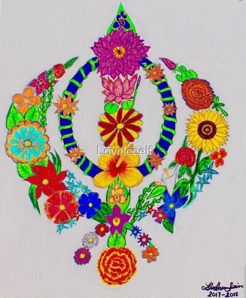 Floral Khanda  by Loveleeelf