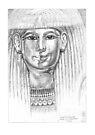 Cartonnage Mask of Lady Tjuya by Aakheperure