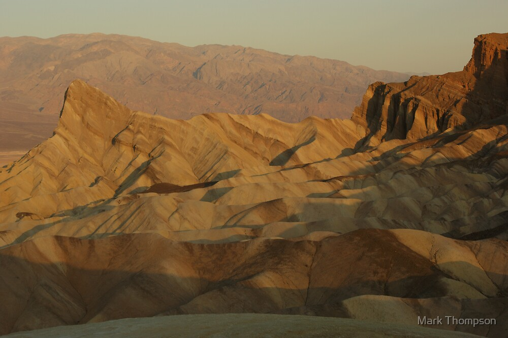 Zabriskie point by Mark Thompson