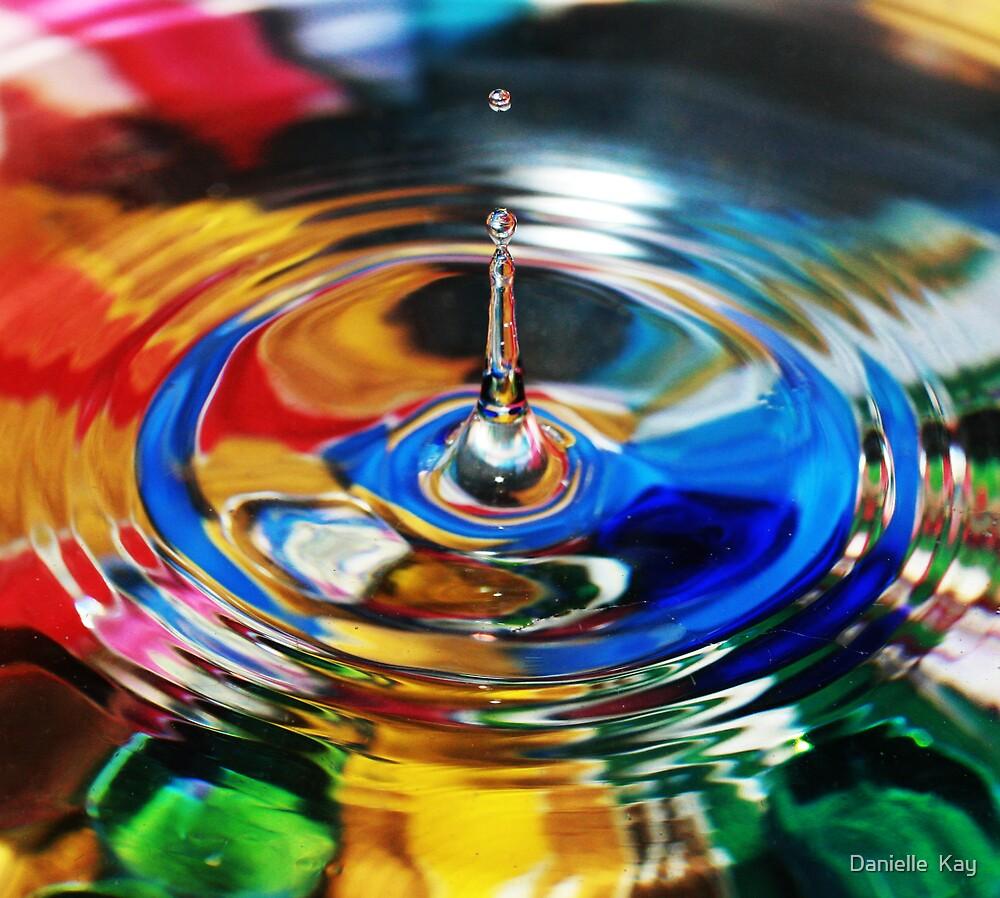 rainbow splash by Danielle  Kay