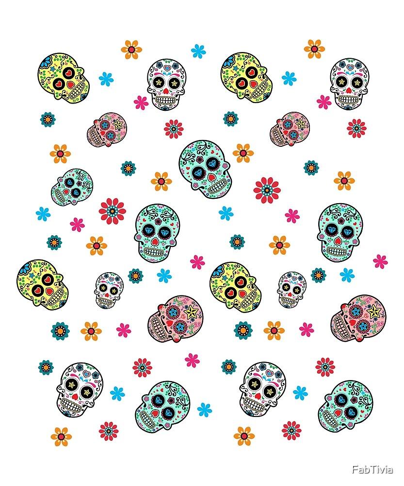Multiple Sugar Skull by FabTivia