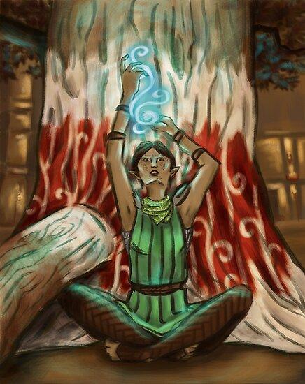Magic Merrill by rathlora
