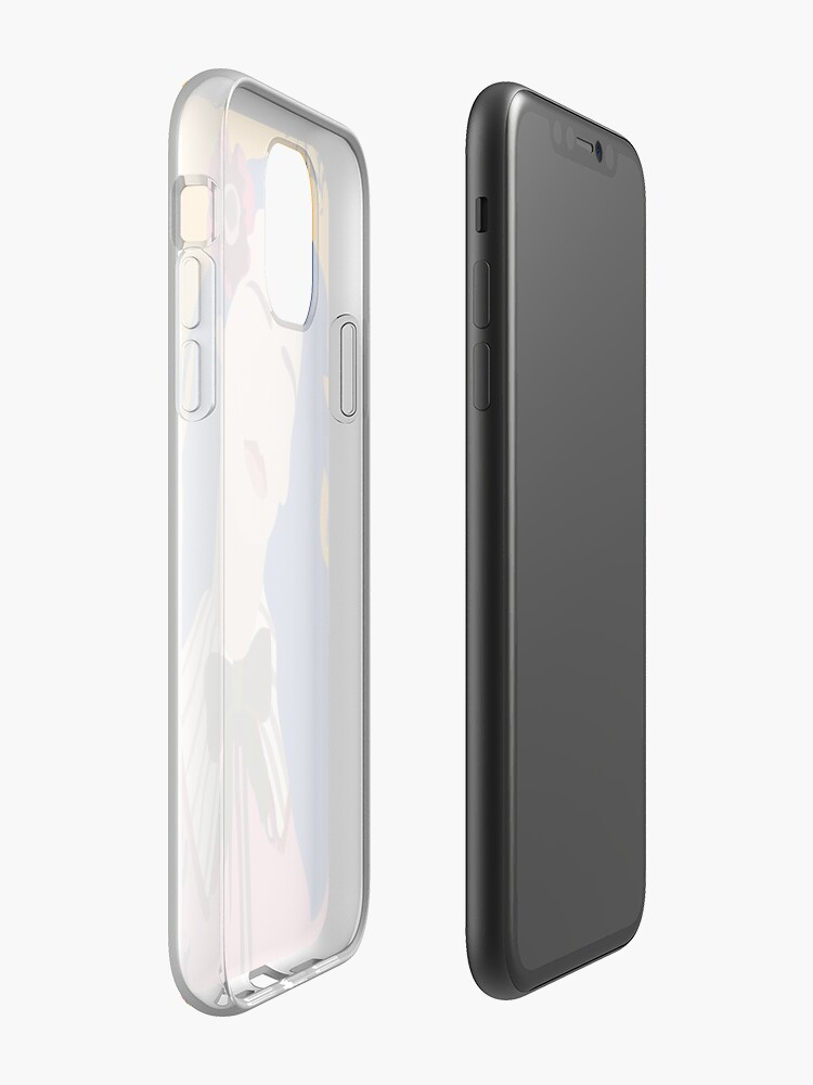 coque iphone 8 doré - Coque iPhone « amour hari nef », par homelessthebob