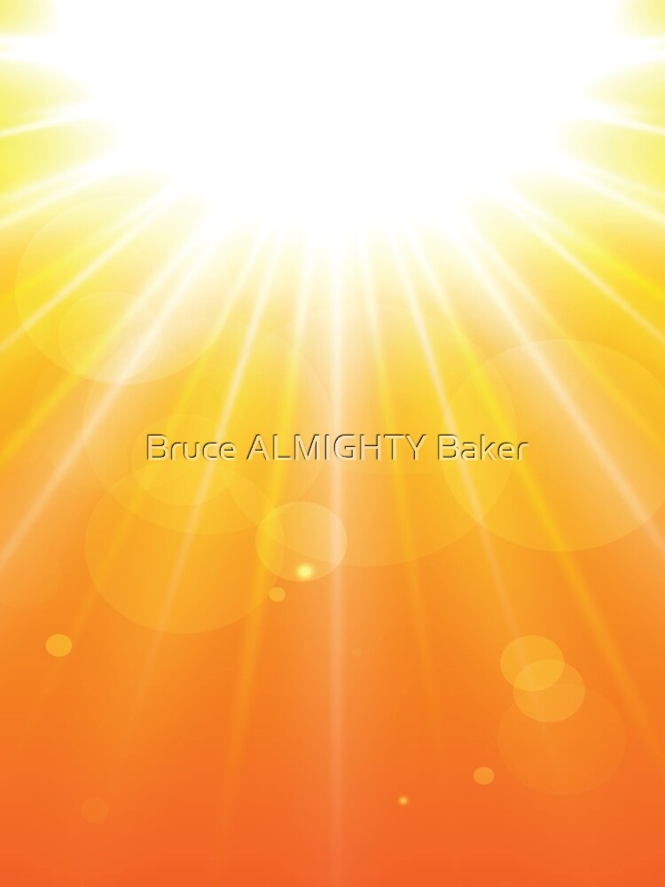 Sunburst Abstract Art by BruceALMIGHTY