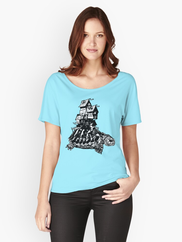 Mobile Home Women's Relaxed Fit T-Shirt Front