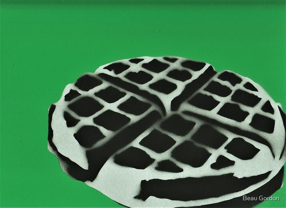 green waffle by dapperandbrave