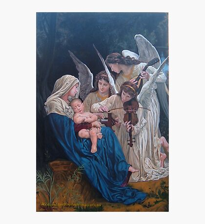 song of angels after W. Bouguereau Photographic Print