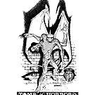 Dungeons & Dragons Gargoyle by subatomic09