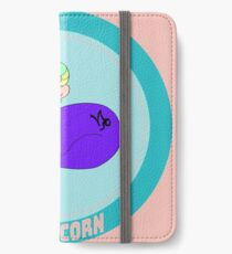 Capricorn - in Salmon Pink with Title iPhone Wallet/Case/Skin