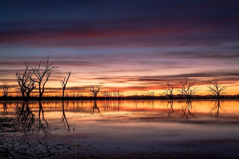 Lake Toolondo Sunrise by anthonyhfoto