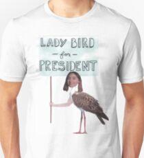 Vote for Lady Bird Dir. Greta Gerwig Unisex T-Shirt