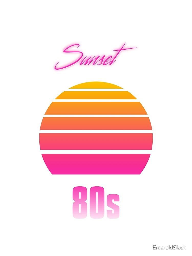 Sunset 80s by EmeraldSlash