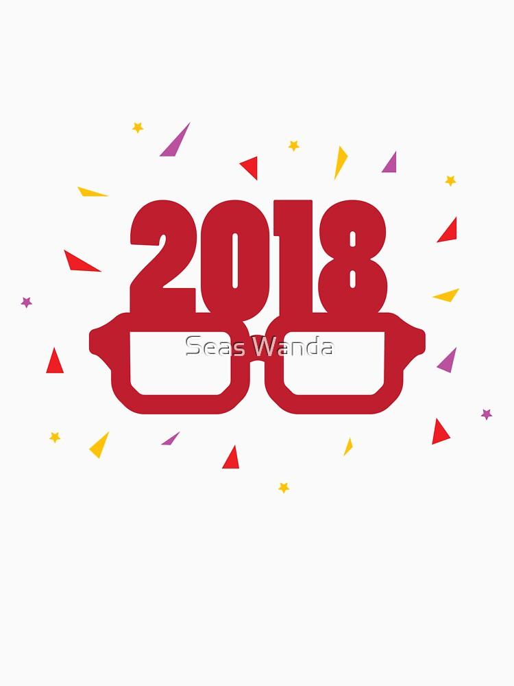 2018 Happy new years eve celebration kids Women Men by macshoptee