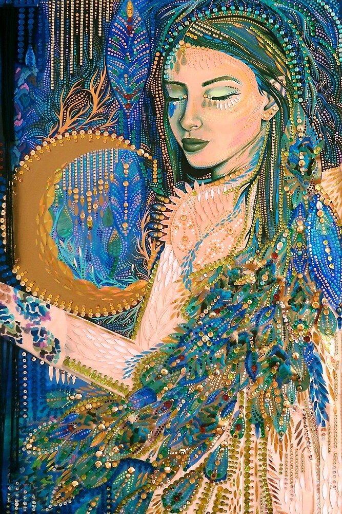 Moon Goddess by Kimi Sadanaga