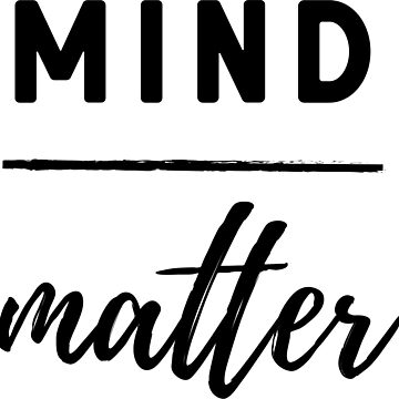 Mind Over Matter Workout Shirt by fondco