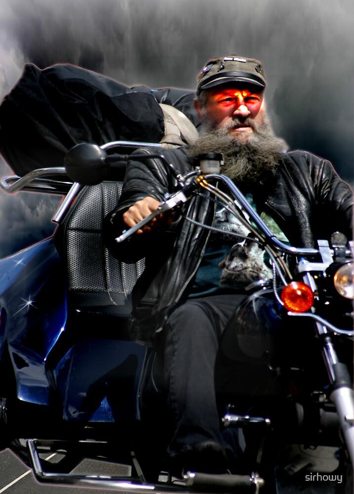 Biker From Hell by sirhowy