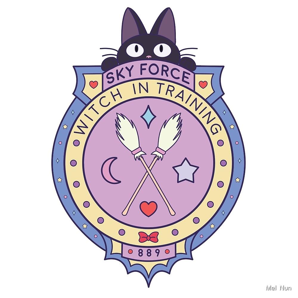 Kiki Witch in Training Badge by melnun