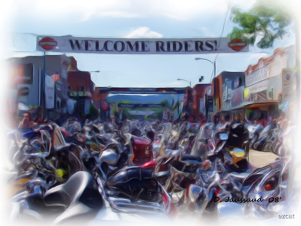 Street View Sturgis Bike Rally by ezcat