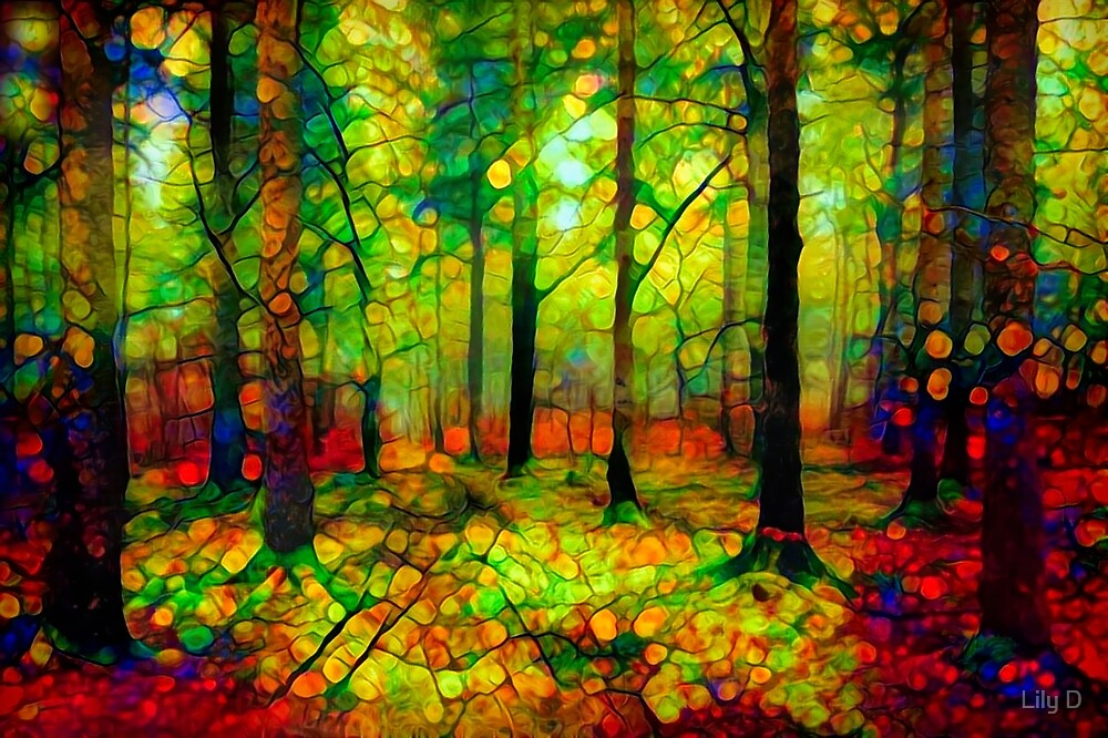 Summer forest by Art Dream Studio