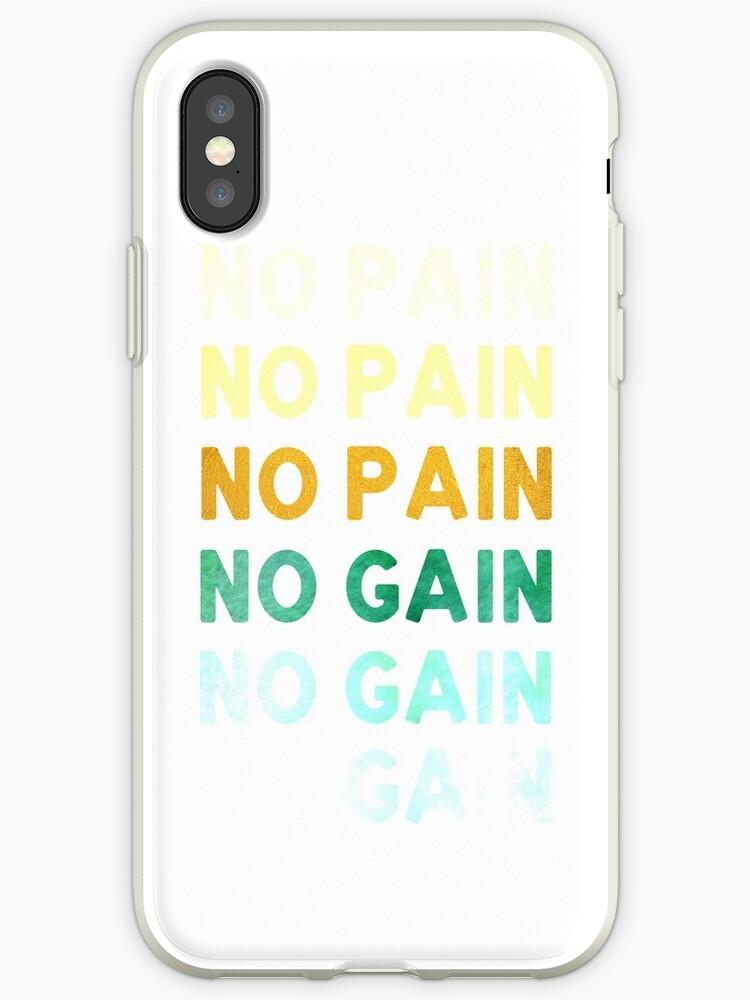 No Pain No Gain Shirt by fondco