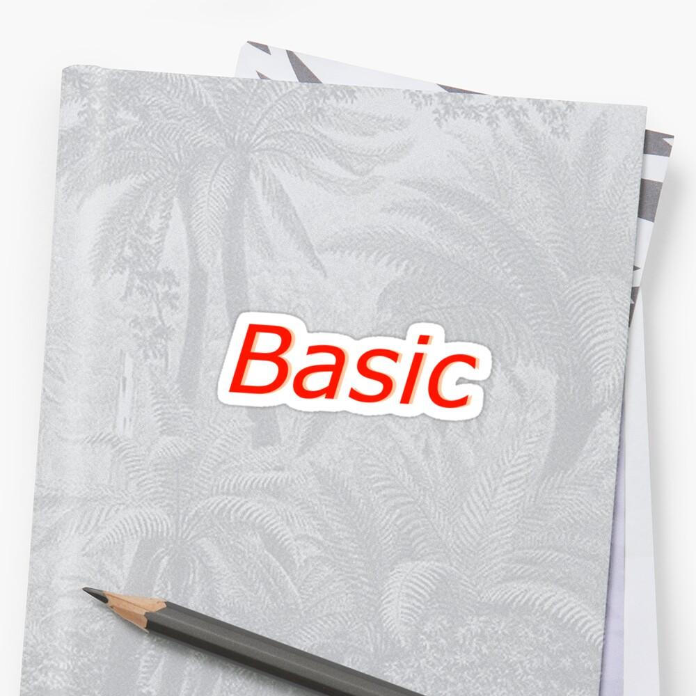 BASIC by adigiuseppe