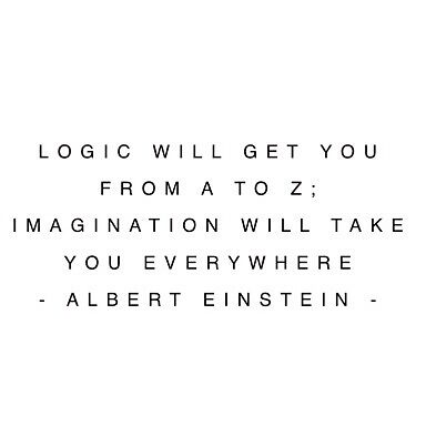 logic and imagination by BriannaUncle