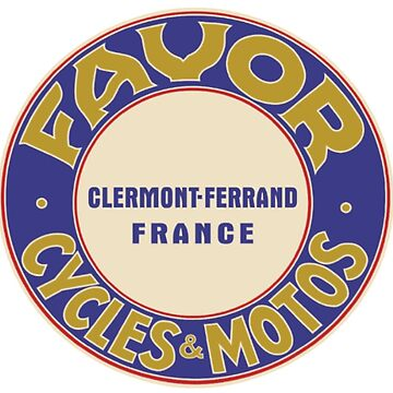 FAVOR MOTORCYCLES VINTAGE FRENCH MOTOS by cseely