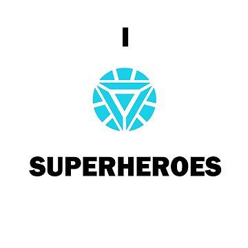 I ARC SUPERHEROES by AmyMor