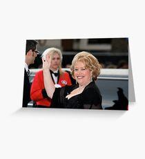 Kathy Bates Greeting Card