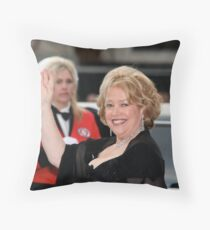 Kathy Bates Throw Pillow