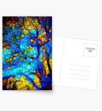 magischer Baum Postkarten