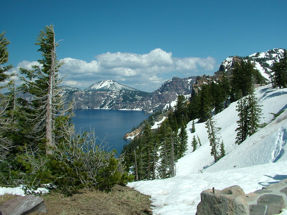 Crater Lake 3 by CherylAdams