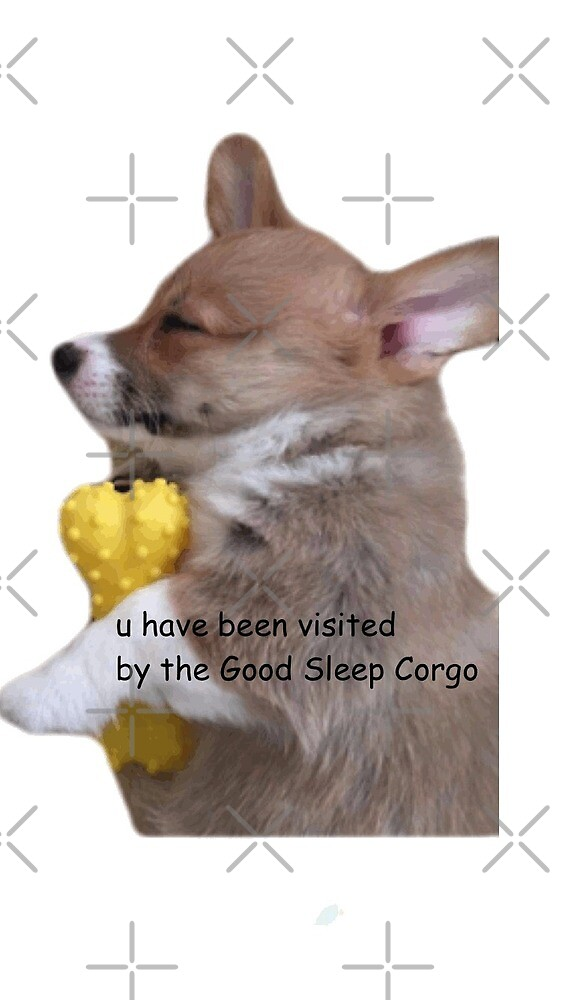 Good Sleep Corgi by thecorgistore