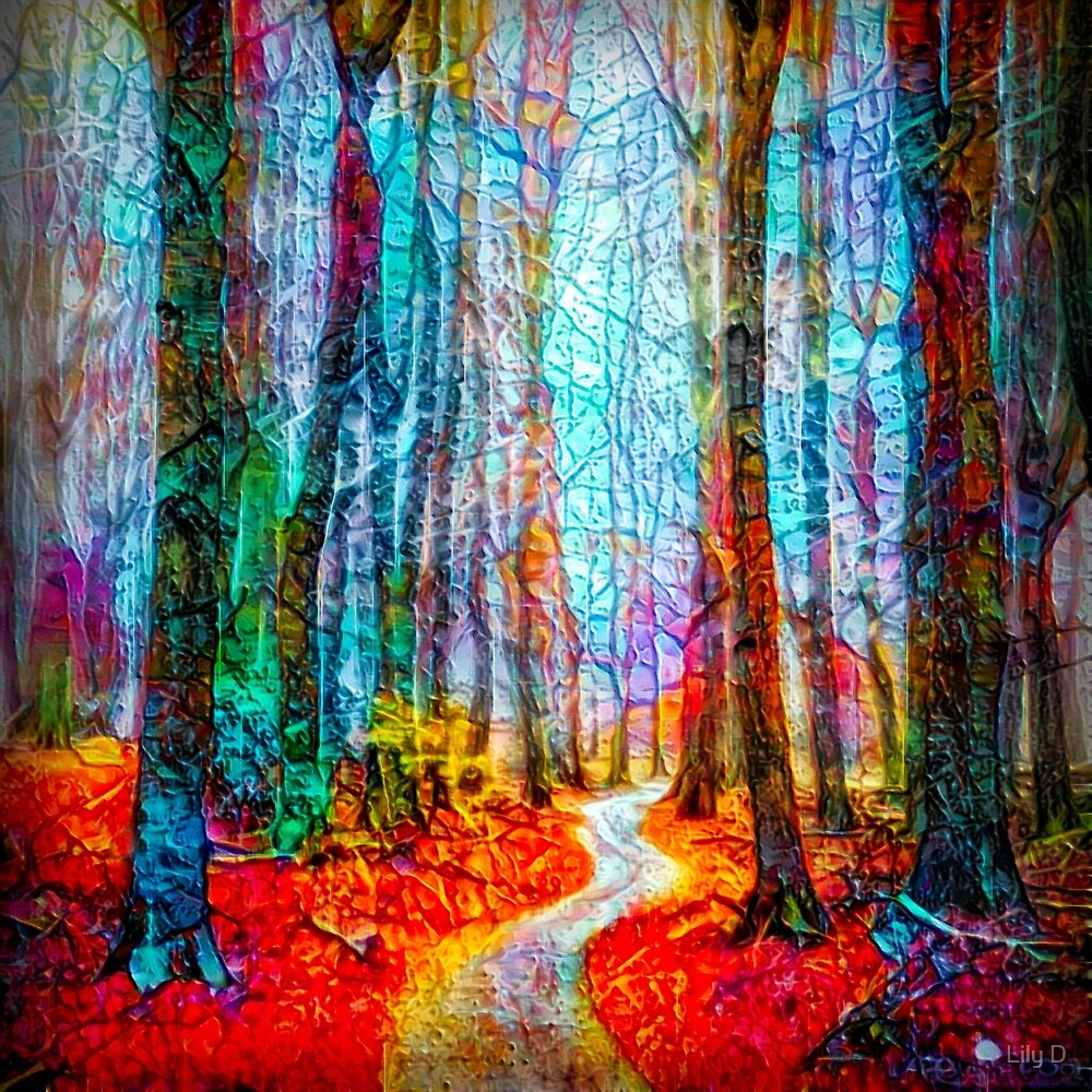 path in the forest by Art Dream Studio