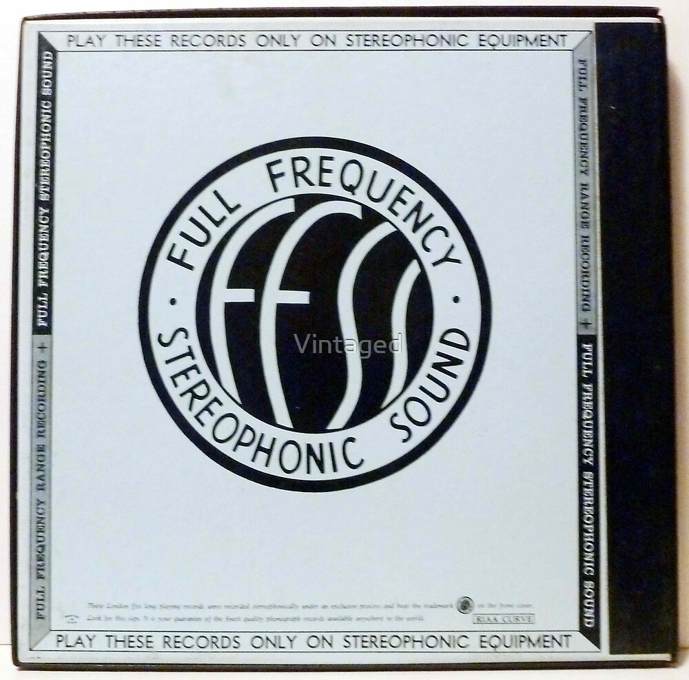 FFSS, Stereophonic, London, Blueback, Full Frequency Sterophonic Sound by Vintaged