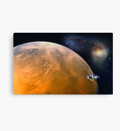 Mars Station Canvas Print