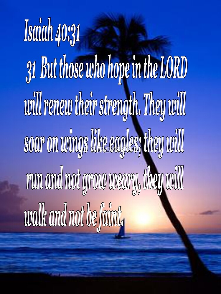 Isaiah 40.31 by smstees