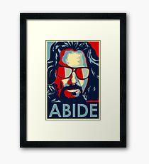 Abithe tshirt Framed Print