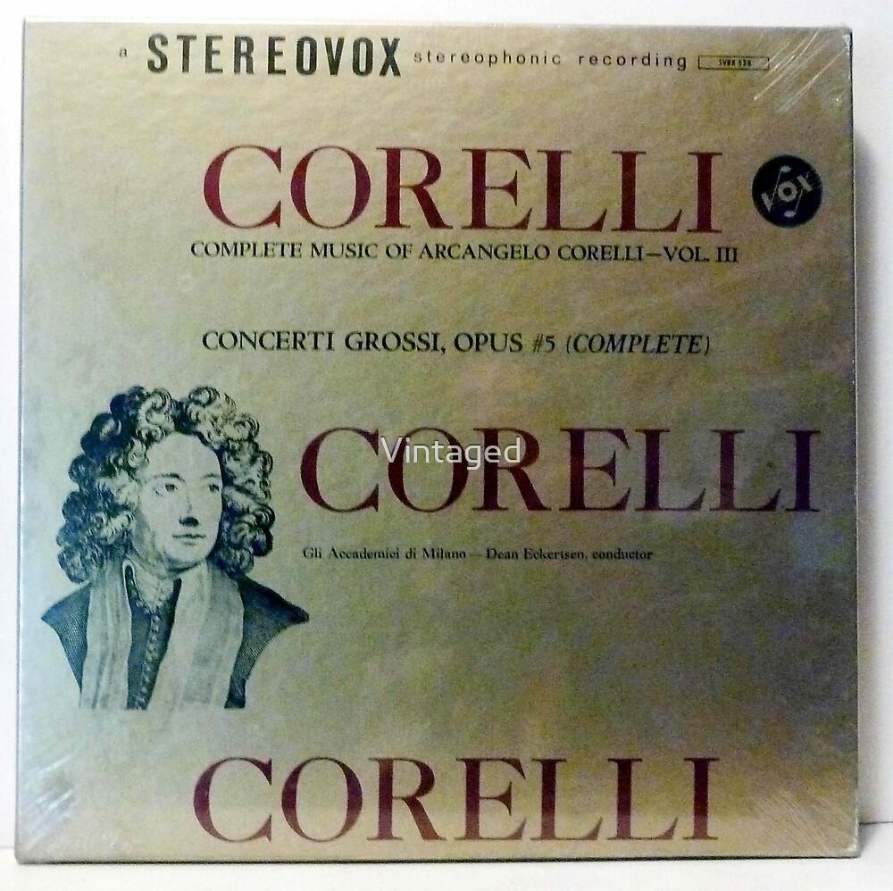 Arcangelo Corelli, Corelli, Baroque, Concerti Grossi   by Vintaged