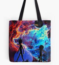 Rick and morty galaxy  Tote Bag