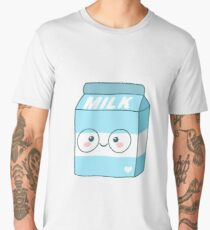 Kawaii Milk Men's Premium T-Shirt