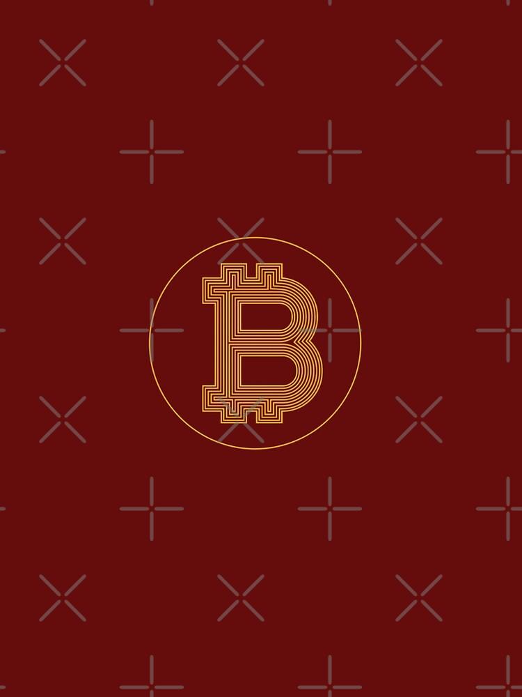 Amazing BitCoin LogoArt by hip-hop-art