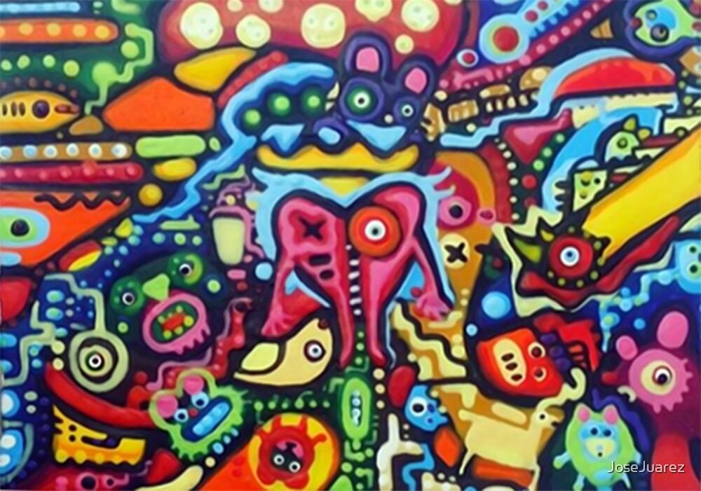 HIDE AND SEEK FANTASY ARTWORK ORIGINAL CHARACTERS by JoseJuarez