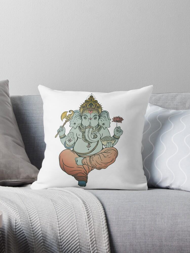 Ganesh Elephant Hindu God of Beginnings by PeppermintClove